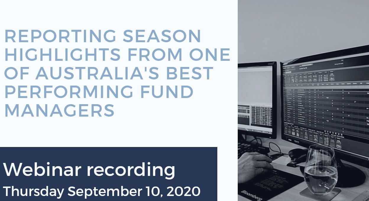 September 2020 Webinar Recording Cover
